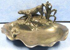 vide poche art nouveau WMFB, AS en étain, chasse, Jugendstil