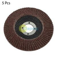 2 x 115mm Flap Disc 4.5'' 40 Grit Angle Grinder Aluminium Oxide Grinding Wheels