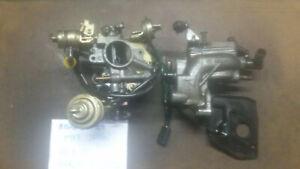 SUZUKI SJ 410 SANTANA SAMURAI AISAN carburatore con collettore e piastra 1000 fu