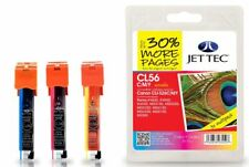 JetTec CLI-526 CMY Remanufactured Ink Cartridge for Canon - CL56CMY, 101C052620