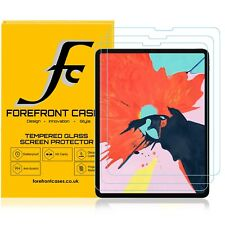 Apple iPad Pro 12.9 2018 Tempered Glass Screen Protector Guard HD Cover | 3 Pack