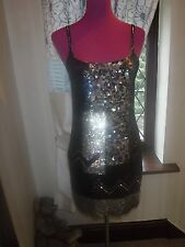 Stunning  All Saints Bloque Sequin Dress Size 8 BNWT