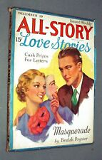 All Story Love Stories (combined with Munsey) Vol. LXIII, #3, December 19, 1936
