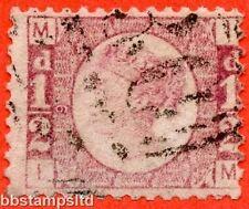 """SG. 48/49. g4. """"IM"""". 1/2 D Rose-Red Plate 9. un bell 'esempio utilizzato."""
