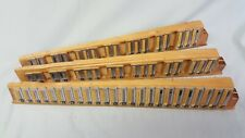Accordion Parts ~ Scandalli Treble Reeds  ~ 3 Block Set ~ LMM ~  No Rust