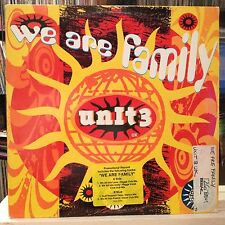 "NM 12""~UNIT 3 UK~We Are Family~[Ragga Club Mix~5:00~Peace Mix~4:53~Dub Mix~4:56]"
