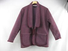 Little Big Horn Shirt Co Shawl Collar Western Fleece Camp Jacket Women's S T3