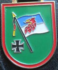 Brustanhänger Verbandsabzeichen  PzGrenBtl 412 Stallberg (R) mit Rand