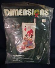 "Dimensions ""Christmas Eve"" Stocking Counted Cross Stitch Kit Unopened"