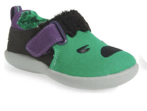 TOMS x Marvel Whiley Green Hulk Embroidered Slip-On Sneakers Size 3M Infants
