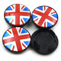 4x 54mm Union Jack Nabendeckel Felgendeckel Nabenkappen für MINI 3131171069