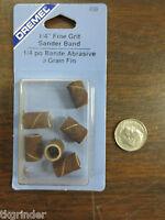 Dremel 438 1/4-Inch 120 Grit Sanding Bands 6-Pack