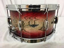 "Tama Star Walnut 14"" Diameter X 8"" Deep Snare Drum/Garnet Japanese Sen Burst/New"