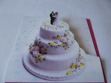 Wedding Day Pop Up Card.......Congratulations Greetings Card.