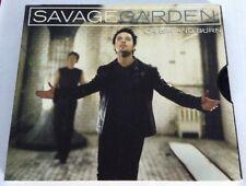 Savage Garden - Crash And Burn - Aussie 3trk CD Darren Hayes