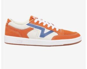 Vans Lowland CC Leather Puffins-Bill Orange/Blue/White Mens 11.5 Sneakers