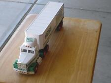 READ AD HESS 1992 18 WHEELER WITH RACE CAR & 1994 RESCUE TRUCK DISPLAY MODELS