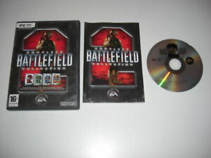 BATTLEFIELD 2 Complete Collection Pc DVD Rom BF2 Inc 3 Expansion Packs FAST POST