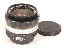Nikon 24mm F2.8 Nikkor-N Lens - Factory AI Conversion - EX/EX+