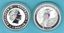 AUSTRALIA - 1 DOLAR 2014 KOOKABURRA, 1 ONZA PLATA - 1 OZ. SILVER
