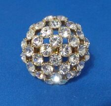 KATE SPADE Lady Marmalade Rhinestone Disco Ball Ring Size 5