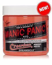 Manic Panic Creamtone Pastel Semi Permanent Hair Color Cream Dreamsicle
