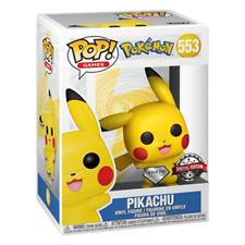 Funko Pop Pokemon Waving Pikachu Diamond Glitter Vinyl Figure