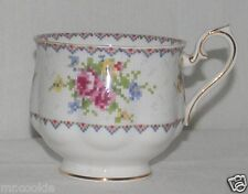 Royal Albert China Footed Coffee Tea Cup Teacup Petit Point NO Saucer England