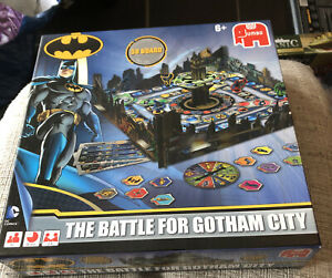 The Battle for GOTHAM CITY 18153  3D board game by JUMBO