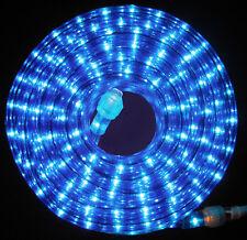 "Blue Rope Light 300Ft 110V 120V 2-Wire 1/2"" Incandescent Bulbs Flexilight"