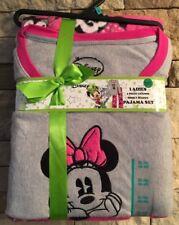 ecd38383947cc Disney Ladies Minnie Mouse Fleece Pajama Set Size XL 100 Polyester