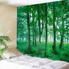 Sunshine Sky Tapestry Forest Tree Wall Hanging Scenery Art Bedspread Home Decor