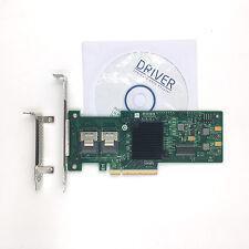 New LSI MegaRAID 9240-8i 8-port SAS SATA LSI00200 PCI-E RAID Controller Card