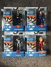 DC HEROES UNITE SUPERMAN, BLACK SUPERMAN, CYBORG, SHAZAM