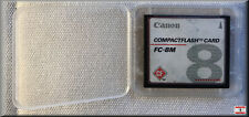 SanDisk / Canon Compact Flash CF-Card 8MB SDCFB - antik !