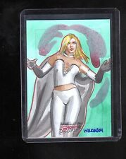 Marvel Dangerous Divas Sarah Wilkinson sketch card