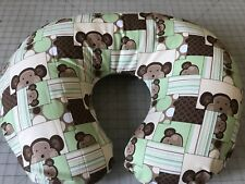 Super Cute Monkey Patchwork Boppy Pillow Cover Also Take Orders Usa