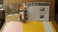 Vtg Steen Motorcycle  Alsport Tri-sport Three Wheeler Brochure 7 Dealer Packet