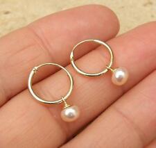 Unbranded Pearl 14k Fine Earrings