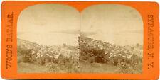 NY Watkins & Seneca Lake Stereoview