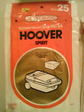 BARGAIN 2 bags of 2 Hoover Vacumm Spirit Models Type K total of 4 bags