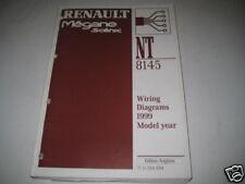 Wiring Diagram Schaltpläne Renault Megane Scenic Model year 1999