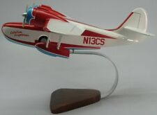 Grumman G-21 Goose Catalina G21 Airplane Desktop Kiln Dry Wood Model Regular