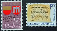 LIECHTENSTEIN - timbre/stamp Yvert et Tellier n°869 à 870 n** (cyn5)