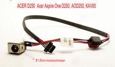 Per Acer Aspire One d250 aod250 kav60 Packard dc30100740 DC Jack Presa Alimentatore