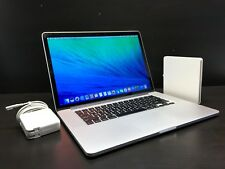 "APPLE MACBOOK PRO 15"" RETINA / 3.8GHz QUAD i7 / MAX 16GB RAM / HUGE 512GB SSD"