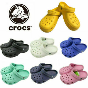 Crocs Adults Mens Womens Classic Cayman Clogs New Colours & Sizing For 2021 UK