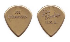 Joe Bonamassa Dunlop Jazz III Molded Gold Guitar Pick - 2014 Tour
