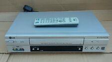 LG LV880 VIDEO PLAYER VHS VCR 6 HEAD HI-FI NICAM & NTSC REMOTE