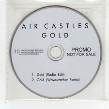 (FV750) Air Castles, Gold - 2011 DJ CD
